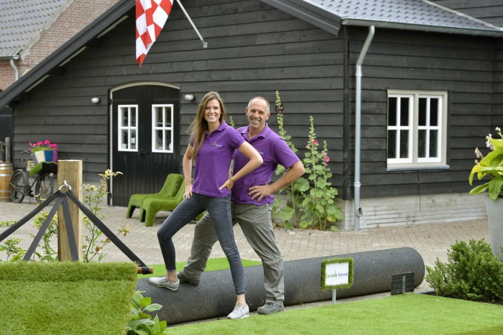 Het team van Kunstgras Brabant helpt u graag bij het leggen van kunstgras